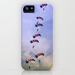 RAF Falcon Stack Formation iPhone Case