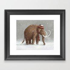 The Ice Age Sucked Framed Art Print