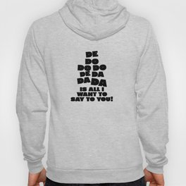 Police, music quote Hoody