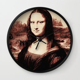 Mona Lisa Vintage Wall Clock