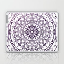 Purple Mandala Laptop & iPad Skin