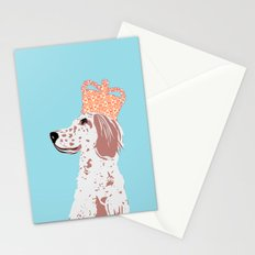 English Setter Dog Art  Stationery Cards