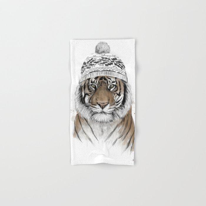 Siberian tiger Hand & Bath Towel