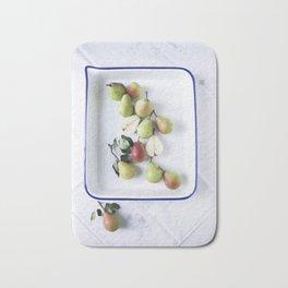 Fresh Picked Pears Bath Mat