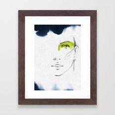 Lena Framed Art Print