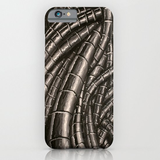 metal cables iPhone & iPod Case