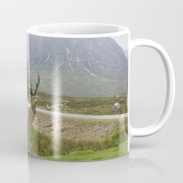 Scottish Deer Top Model Coffee Mug