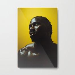 Negro Metal Print