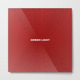 Green Light 1 Metal Print