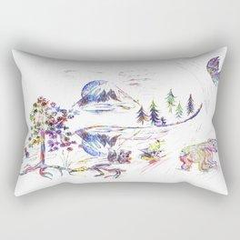 Saint Helens Peace Rectangular Pillow