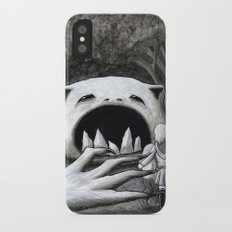Monster in the Woods iPhone X Slim Case