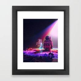 DEEP SPACE (everyday 06.14.18) Framed Art Print