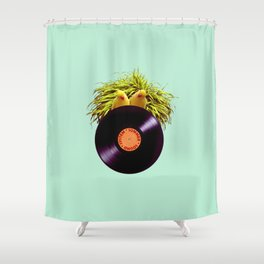 Summer Sound System Shower Curtain