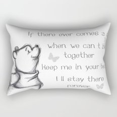 Insightful Pooh Rectangular Pillow