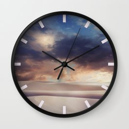 Tranquility of Dune Wall Clock