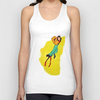 library Tank Tops featuring HIS LIBRARY by kasi minami