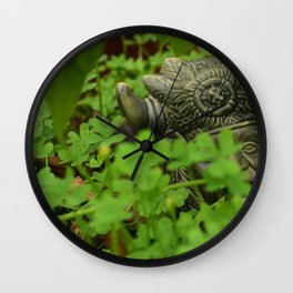 Hidden Spirit Wall Clock