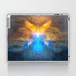 Phoenix Rising - 3rd Annual HeART & SOULstice Gathering  Laptop & iPad Skin