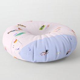 Coogee Beach Floor Pillow