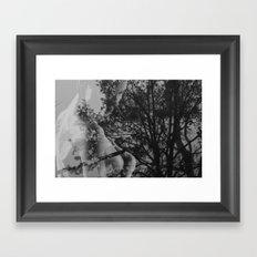 Come Undone Framed Art Print