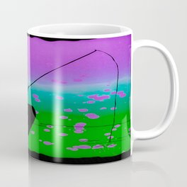 Psychedelic Phishing Coffee Mug