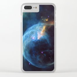 Bubble Nebula Clear iPhone Case