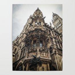 New City Hall, Marienplatz, Munich, Germany Poster