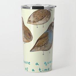 Quail of a Time Travel Mug