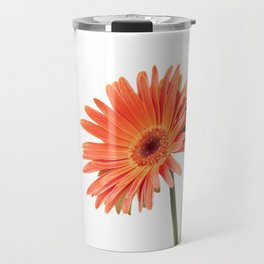 isolated gerbera daisy in the vase Travel Mug
