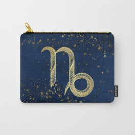 Capricorn Zodiac Sign Carry-All Pouch