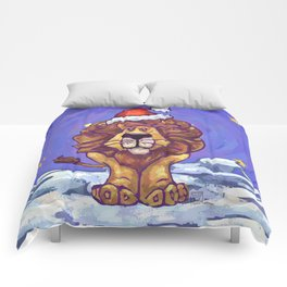 Animal Parade Lion Comforters