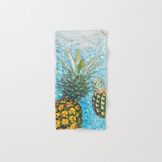Be a Pinapple V2 #society6 #decor #buyart Hand & Bath Towel
