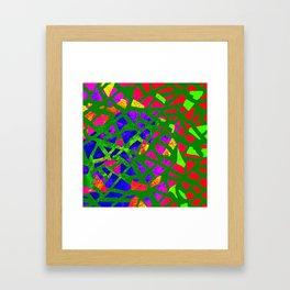Terrazzo-Art Framed Art Print