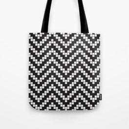 Herringbone Weave Seamless Pattern. Tote Bag