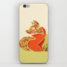 Undercover Fox iPhone & iPod Skin