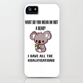 Kowala Bear iPhone Case