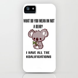 Kowala Bear iPhone Case