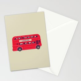 Double Decker - London Stationery Cards