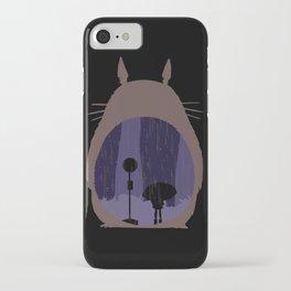 Rainy Day (totoro) iPhone Case