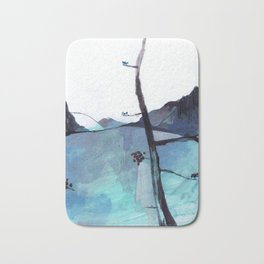 ALASKA SKETCHBOOK Bath Mat