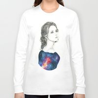 dreamer Long Sleeve T-shirts featuring Dreamer by KristinMillerArt