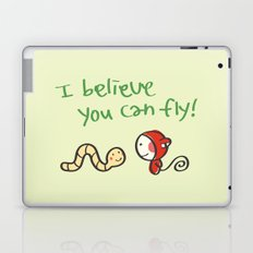 I Believe You Can Fly Laptop & iPad Skin