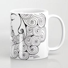 Spiral Hair Coffee Mug