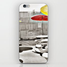 Coney Island Eats Photography iPhone Skin