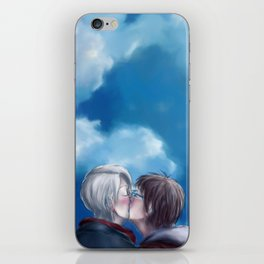 My love to keep you warm iPhone Skin