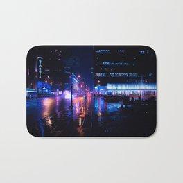 rainy nights in Vancouver Bath Mat