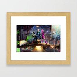 Adventurers Framed Art Print