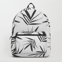 Exotic leaves pattern  33 Backpack