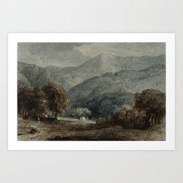 George Jones 1786–1869 Title Cader Idris Art Print