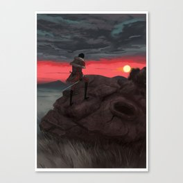 Kyror sunset Canvas Print
